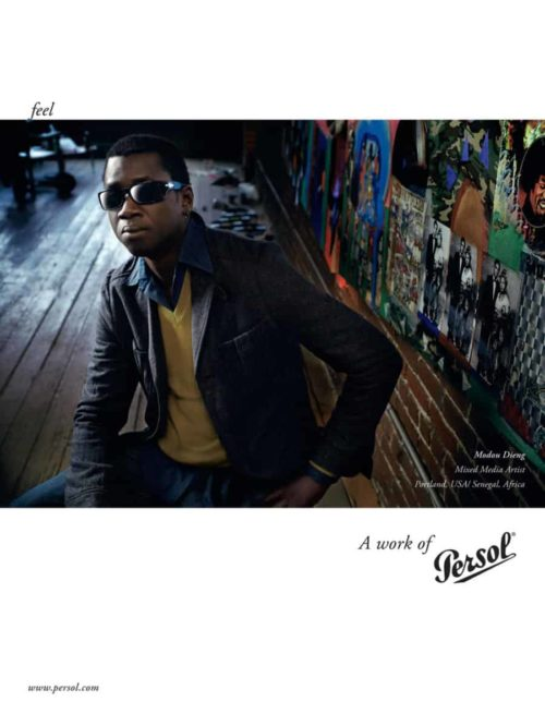 Persol : A Work Of : Modou Dieng