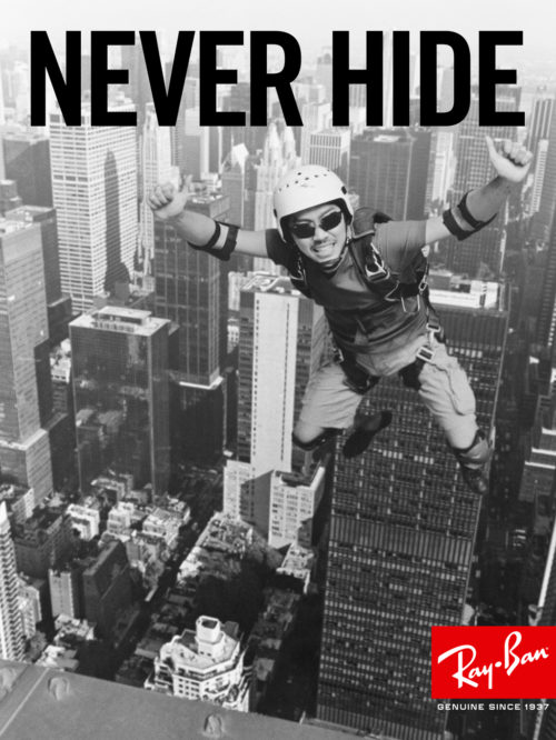 Ray-Ban : Never Hide Launch : Base Jumper