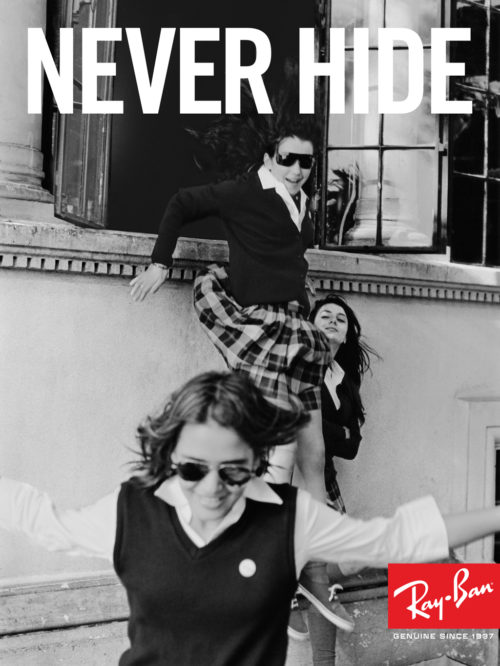Ray-Ban : Never Hide Launch : School Girls