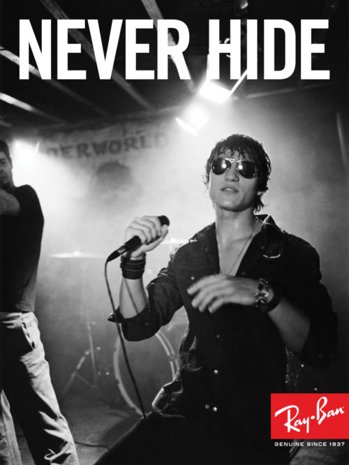Ray-Ban : Never Hide Launch : Lead Singer
